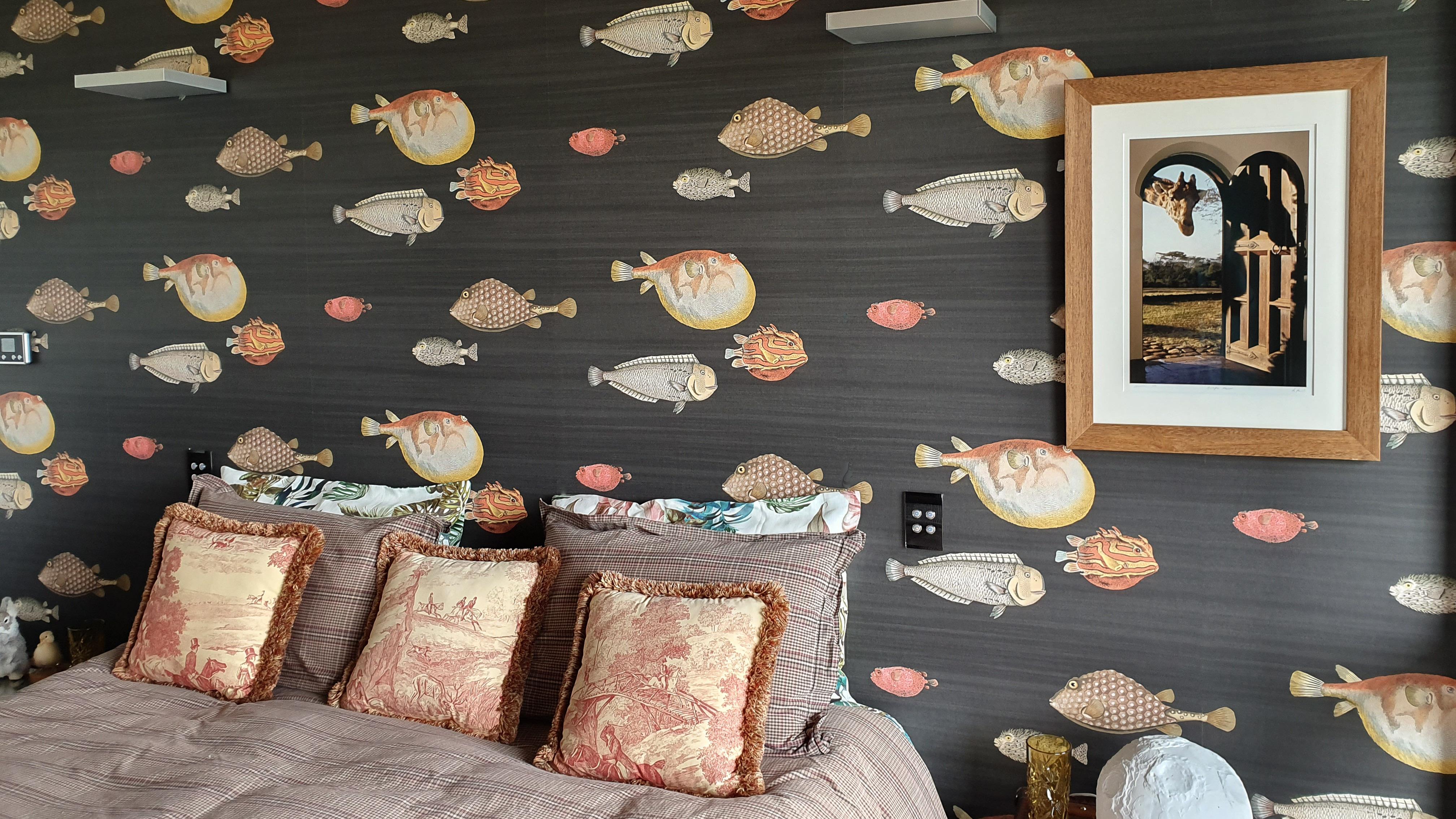 Wallpaper hanging - Cole & Son - Fornasetti Senza Tempo Acquario